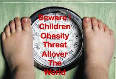 children obesity threat